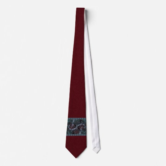 Musical Holiday Fractal Art Neck Tie