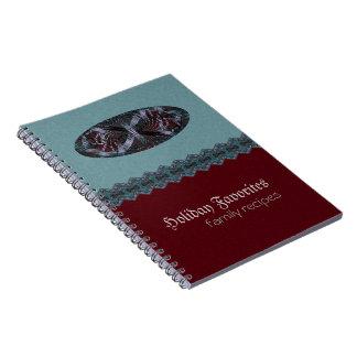 Musical Holiday Fractal Art Notebook