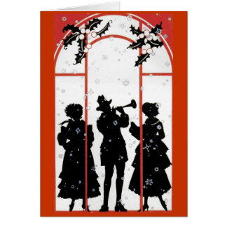 Musical holidays card