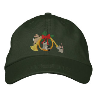 Musical Holidays Embroidered Baseball Hat