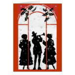 Musical holidays greeting cards