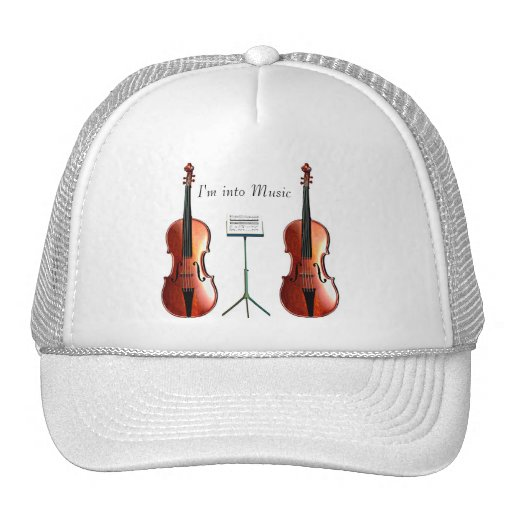 I'm Into Music Double Cello Trucker Hat
