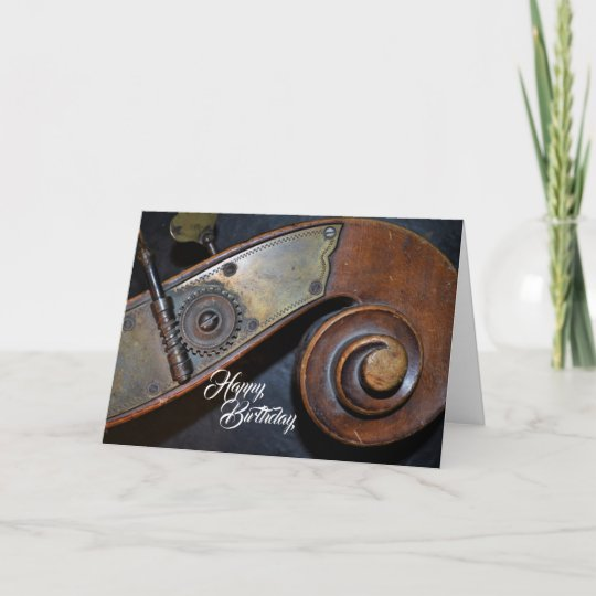 Musical Instrument Birthday Card