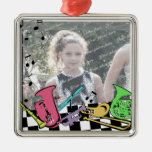 Musical Instrument Photo Christmas Ornaments