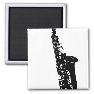 Musical instrument saxophone musicians designs refrigerator magnets