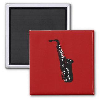 Musical instrument saxophone musicians designs fridge magnets
