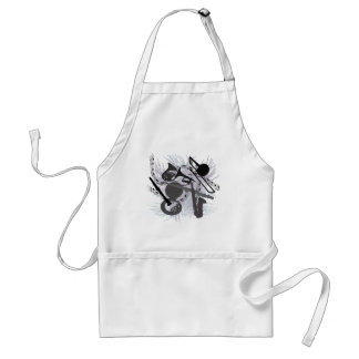 Musical Instruments Adult Apron