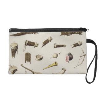 Musical instruments belonging to negro slaves (col wristlet purse