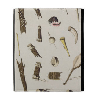 Musical instruments belonging to negro slaves (col iPad folio case