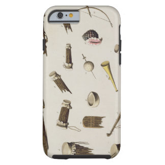 Musical instruments belonging to negro slaves col iPhone 6 case