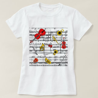 musical instruments copy.pdf T-Shirt
