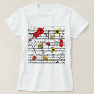 musical instruments copy.pdf T-Shirt