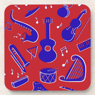 Musical Instruments Drink Coaster