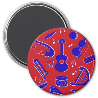 Musical Instruments Magnet