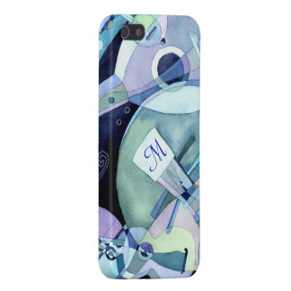 Musical Instruments Monogram iPhone 5 Case Savvy