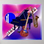 Musical Instruments Poster - JPEG