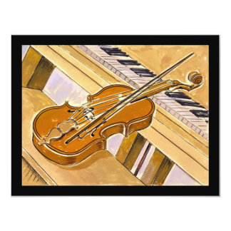 Musical Instruments Recital Or Party INVITATION