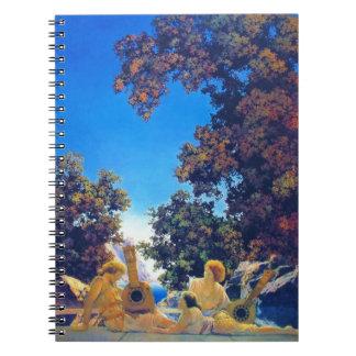 Musical Interlude 1922 Spiral Notebook
