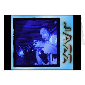 Musical Interludes: Vintage Jazz Card