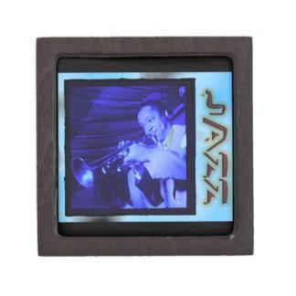 Musical Interludes: Vintage Jazz Keepsake Box