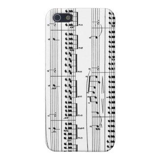 Musical iPhone 5 Carcasa