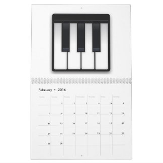 Musical Keyboard - Emoji Calendar