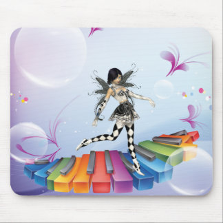 Musical Keyboard Faerie Mouse Pad