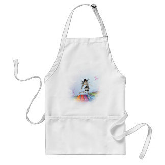 Musical Keyboard Faerie Vignette Aprons