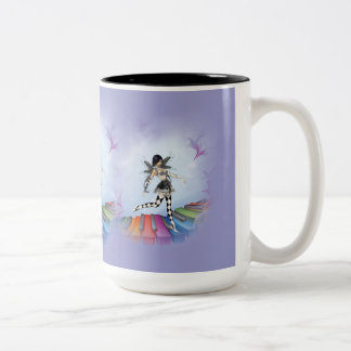 Musical Keyboard Faerie Vignette Mug