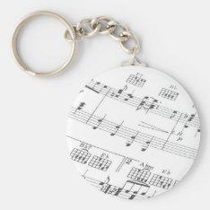 Musical KeyChain at Zazzle