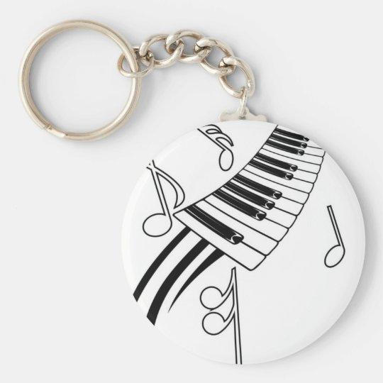 Musical Keys Keychain
