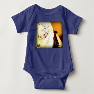 Musical Lifetimes Baby Piano Keys Bodysuit