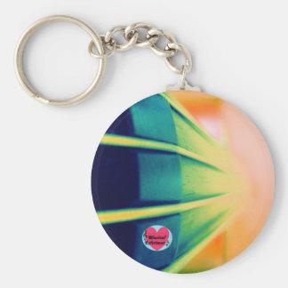 Musical Lifetimes Cello Round Key Ring Basic Round Button Keychain