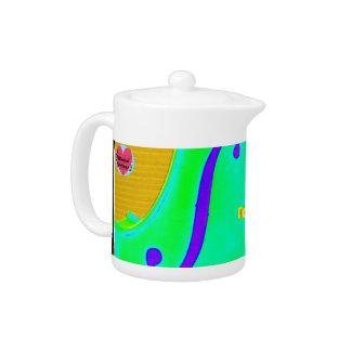 Musical Lifetimes Cello Teapot