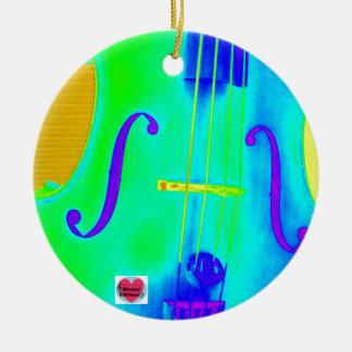 Musical Lifetimes Ceramic Cello Music Decoration Ceramic Ornament