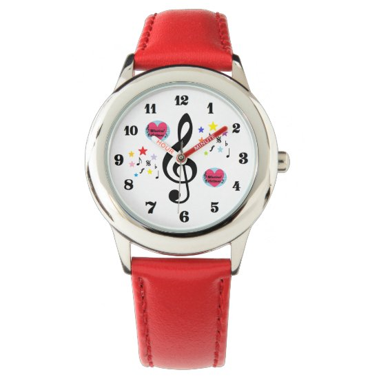Musical Lifetimes Kids' 'I Love Music' Watch