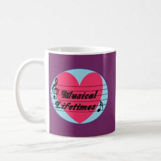 Musical Lifetimes Original Drinking Mug