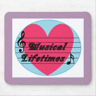 Musical Lifetimes Original Mouse Pad Mouse Mat