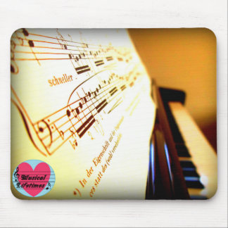 Musical Lifetimes Piano Keys Mouse Pad