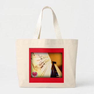 Musical Lifetimes Piano Keys Tote Shopping Bag