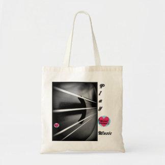 Musical Lifetimes 'Play Music' Shopping Tote Bag