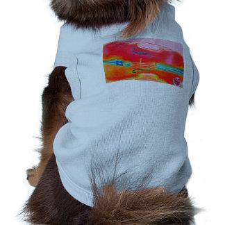 Musical Lifetimes Red Cello Doggie T-Shirt