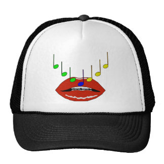 Musical Lips Trucker Hat