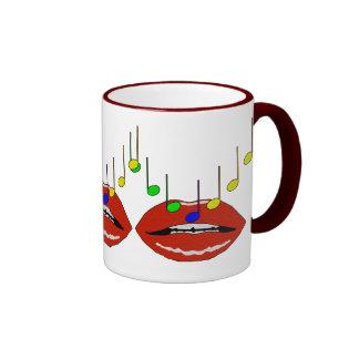 Musical Lips Mug