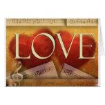 Musical Love card