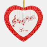Musical Love Forever Keepsake Ornament