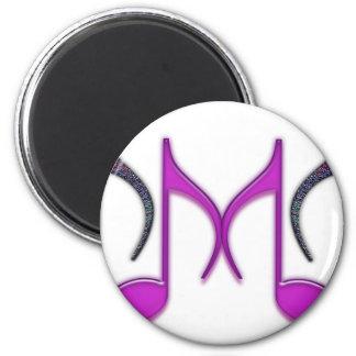 """Musical """"M"""" Letter Magnet"""