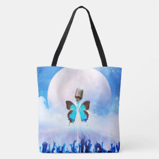 Musical Metamorphosis All-Over-Print Tote Bag