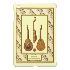Musical moments - Carved lutes Cover For The iPad Mini