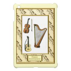 Musical moments - Harp, Viola, guitar Case For The iPad Mini